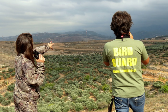 Monitoring the migration of birds on Mount Lebanon